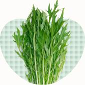 ベジハートの野菜たち、水菜