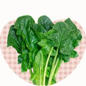 ベジハートの野菜たち、ほうれん草